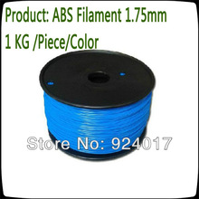 ABS Filament 1.75mm Use For 3D Printer Pen,Parts For 3D Printer Kit,3d Printer Extruder Filament 1KG For DIY Tool,ABS 1.75 mm