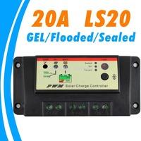 20A Solar charge controller GEL FLOODED SEALED option 12V 24V solar panel battery charger controller EPsolar LS2024 EP solar