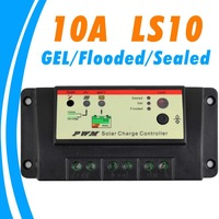 10A Solar charge controller,GEL,FLOODED,SEALED option,Dual timer controller,12V,24V solar system