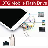 SSK SFD238 MINI OTG Flash Drive 8G 16g 32gb  OTG micro USB Flash For Samsung HTC LG Sharp Lenovo Android Mobile Phone Pad Tablet