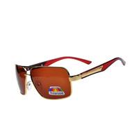 Hot Selling Men Fashion Design Polarized Sunglasses,Hard Resin Lens Metal Frame Gafas De Sol,Brand Sports & Fishing Optics G144
