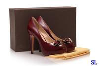 Design ultra peep-toe real leather high heel shoes evening coctail party club pub pumps platform shoes
