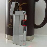 Touch infrared induction lighter windproof ultra-thin full metal bottle