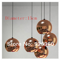 Modern Brief Plated Ball Wall Lamp Glass Ball Pendant Light Aisle Lights Diameter 15CM