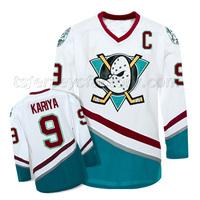 #9  kariya  Mighty Ducks of Anaheim Ice Hockey Jerseys hockey