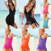 2014 New swimsuit cover ups women cover up beach dress charm swimwear beach dress combo piece swimsuit Europe and America