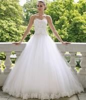 Free Shipping 2014 Madin Bridal Wedding Dress 2014 Wedding Gown Vestido de noiva Custom-made