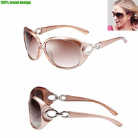 New 2014 Generated Polarized Sunglasses Women Brand Designer Strengthen Lens Sunglasses Woman Polarized UV Protection With Box