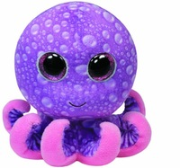 New TY Big Eyes Stuffed Animals Colorful Octopus Ty Beanie Boos Plush Animals Cute Plush Toys for Children Free Shipping