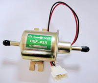 HEP-02A NEW Universal electronic fuel  pump Voltage: 12V Pressure: 3psi-5psi