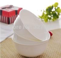 5pcs Bone China White Porcelain Bowl 4.5 inch ceramic rice bowl