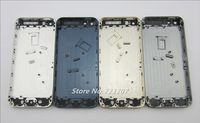 5pcs/lot black white color Replacement part Full Housing Back Battery Cover Middle Frame For iphone 5 Free shipping