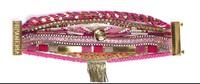 Size S-L Free Shipping Retail/Wholesale Chic Magnetized Clasp Brazilian Glamour Wrist Hipanema Holiday bohemian Bracelet HIP059