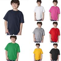 free shipping new 2014 spring sumer fashion brand cotton children unisex short sleeve t shirts boys girls clothes kids clothing