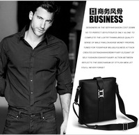 men's leather briefcase Guaranteed 100% Genuine leather  famous brand men's briefcase    high quality 2014030229E