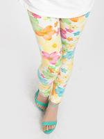 1pc retail free shipping stockings baby pants girl cute flower legging children fashion pants