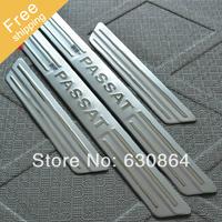 High quality Volkswagen VW PASSAT B5 stainless steel scuff plate door sill 4pcs/set car accessories for VW PASSAT B5