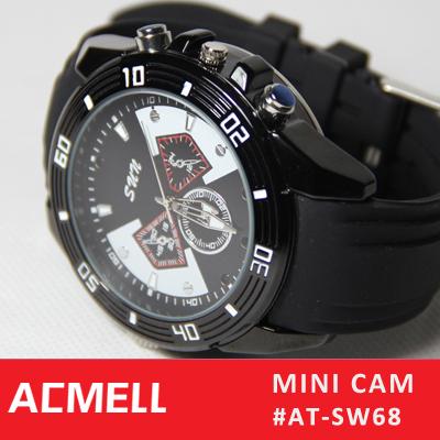 SW68 DIY Detachable TF Card & Battery IR Night Vision 720P hd watch mini camera hidden(China (Mainland))