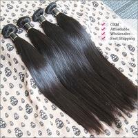 1Pcs  Brazilian Virgin Hair Weft Straight Rosa Hair Products No Shedding No Tangle No Lice Guaranteed