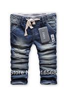 2014 New children 's jeans cotton Denim kids jeans boys pants baby kids trousers size:2/3t  3/4T 4/5T  5/6T 7/8T  9/10T ZA6808