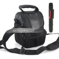 2 in 1 Lens Cleaning Pen Lens pen + Camera Case Bag for Nik&N D7100 D7000 D5200 D5100 D3200 D3100 D800 D600 D90 L810 L310 D70
