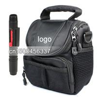 2 in1 Lens Cleaning Pen Lens pen + Camera Case Bag for Canon EOS M SX500 SX50 G15 G1X G12 G11 Rebel T4i T3i /650D/600D/550D/60Da