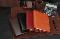 Free Shipping High Quality Leather Notebook Notepad Business Office Diary book B18