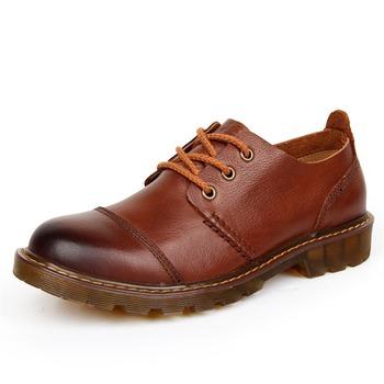 Brand Men's Повседневный Leather Spring/Summer Outdoor Shoes Натуральная кожа ...