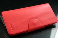 Free shipping Men's Leather Bifold Wallet Multi Pocket Purse Pass case long design wallet card holder