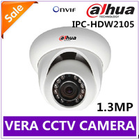 1.3MP 720P HD 1/3'' CMOS Sensor DAHUA IP Camera IPC-HDW2105 ONVIF H.264 1280*960 Resolution CCTV Camera Free Shipping