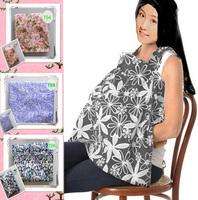 100%cotton  Nursing Privacy Nursing Cover Canopy nursing Shawl breast feeding Wrap Covers with pocket