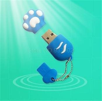 100% real capacity dog/cat pad /animals Claw 8G/16G USB flash drive Pen Drive Disk ...