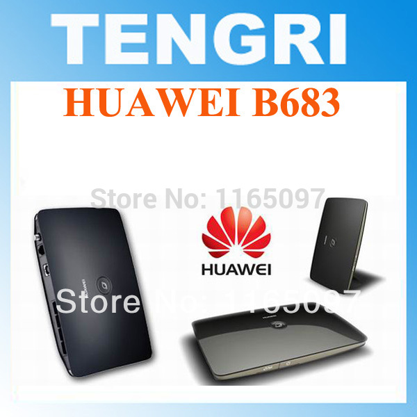 Original Unlocked Huawei B683 3G wireless router WPS USB HSPA+ Wireless Gateway T-Mobile WLAN Router support 900/2100MHZ(China (Mainland))