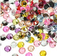 24color 10000pcs the Strass 3mm rhinestones flat back rhinestones Strass crystal for dress rhinestone trim stone  New 2014