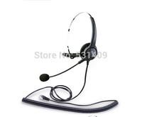 HD voice Hion For600 RJ9 Crystal professional Single ear headset,call center headset, telephone earphone,VoIP Phone headphone