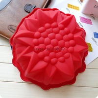 amazing DIY cake pastry moulds wholesale cute large sunflower silicone cake mold bread moulds dessert molds wholesale
