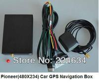 Free Shipping! 2pcs x Special (480x234) Car GPS Navigation Box+Bluetooth+WinCE 6.0+W/O Navi Map