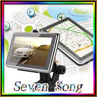 2014 new  GPS navigator 4.3 inch LCD touch screen GPS Car Navigation MTK 4GB Capacity UK EU AU NZ Maps Speedcam