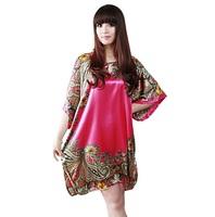 3Color XL-6XL Plus Size Sexy Casual Women Print Dress Ladies Ethnic Big Large Size Oversize XXXXL XXXXXL 4XL 5XL 6XL 2014 Summer