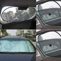 K505(6pcs/set)Foldable auto car 6windowshielde sun shade1Front+Back+4side Windshield Sunshade car Windshield Sunshade