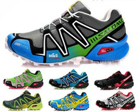 Newest  Zapatillas Salomon 3 shoes Speedcross men's Running Shoes  Ourdoor Sport  Shoes Free /Drop Shipping Size 40-46 SA-9