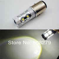 2x BA20D H6M 50W Sumsang LED Xenon White Light Bulb MOTO ATV BIKE QUAD 395