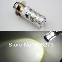 2x P15D-25 APF  50W Sumsang LED White Bulb Motorbike Motorcycle Headlight Dual Light 12V