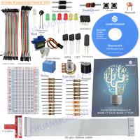 New SunFounder Lab w/ Project Book Starter Kit For Raspberry Pi ,T-Cobbler