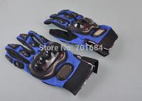 Motorcycle Riding Sport Mesh Hand Glove Protective Cavalier Full Finger S/M/L Bike [P237-P239]
