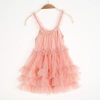 Retail 1-6Y Pretty Summer Girls Chiffon Lace Cake Dress Baby Princess Dresses MOQ 1pc Free Shipping