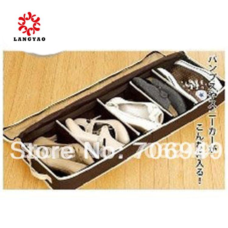 1pc New 2015 Novelty Men Women Shoe Box Storage Boxes Organizer -- PR05 STG10 Wholesales(China (Mainland))