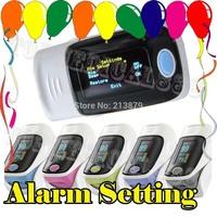 FDA CE SPO2 PR oxygen monitor finger pulse oximeter spo2 pr  OLED 6 display modes hot sale