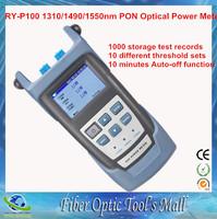 1000 Storage Test Records Tester Fiber RY-P100 Optical Power Meter PON