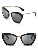 2014 New Brand Women's Embellished Cat-Eye Sunglasses Metal Leg Glasses  G-11 Free Shipping